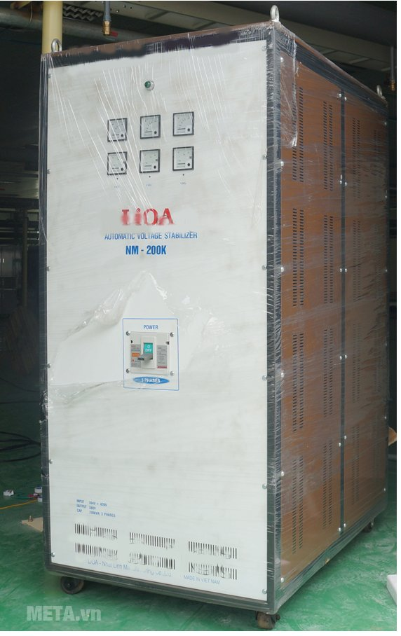 Ổn áp 3 pha Lioa 200KVA NM 200