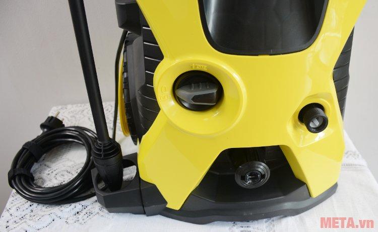 Máy phun áp lực cao Karcher K5 EU có công tắc nguồn phía trước thân máy