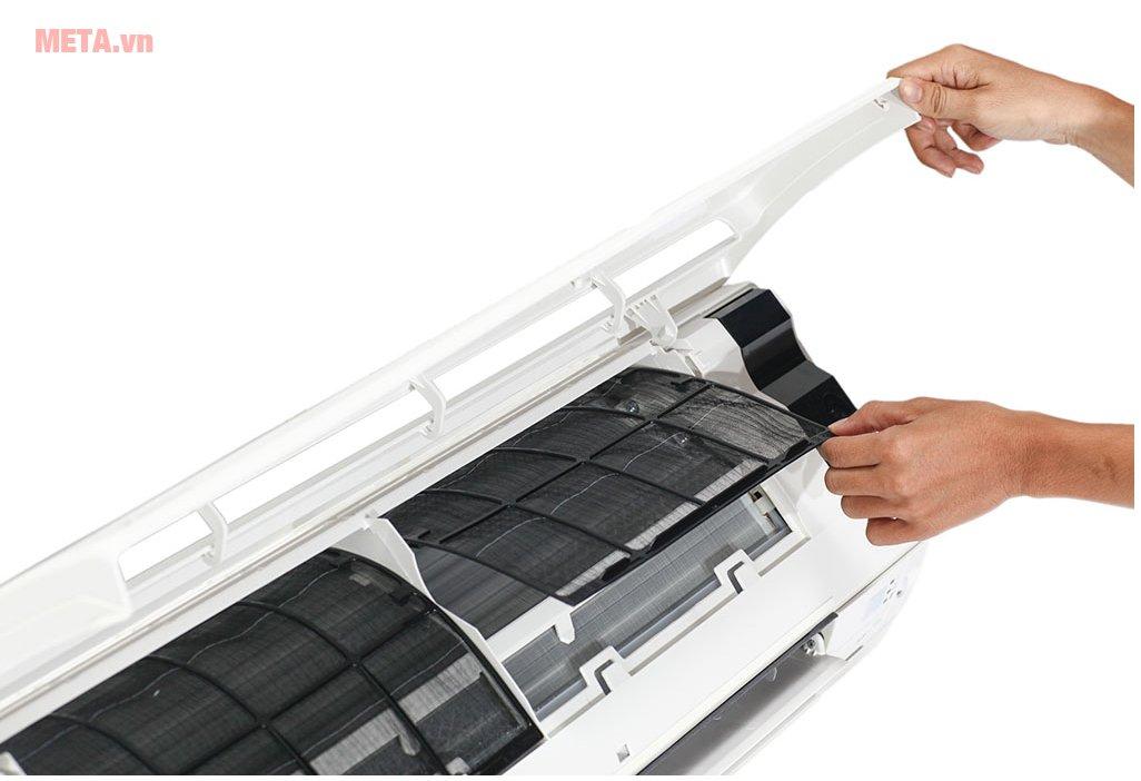 Điều hòa 2 chiều Inverter Daikin 12000BTU FTXS35GVMV/RXS35GVMV dễ dàng vệ sinh sau khi sử dụng