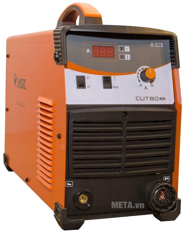 Máy cắt kim loại Plasma Jasic Cut 80 (L205) có màn hình hiển thị dòng cắt