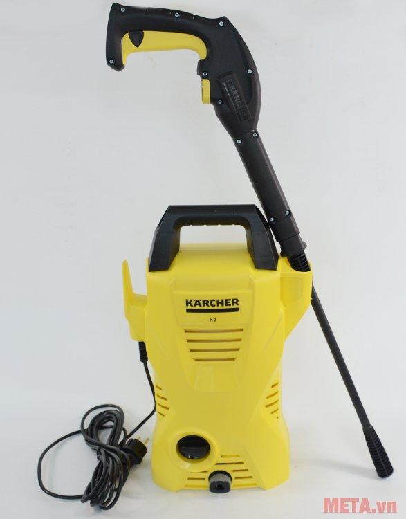 Máy rửa xe Karcher K2 Compact Car có gam màu vàng nổi bật