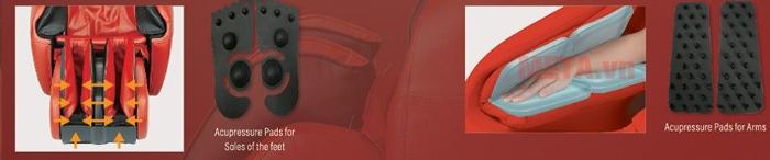 Ghế massage toàn thân Inada S878D với nhiều công nghệ hiện đại