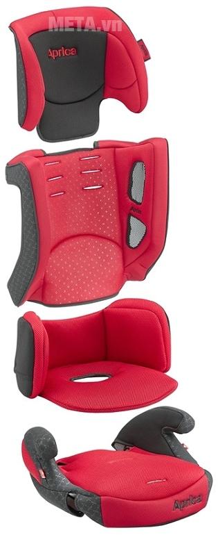 Ghế sử dụng chất liệu thoáng khí đem lại cảm giác thư thái suốt chặng đường dài