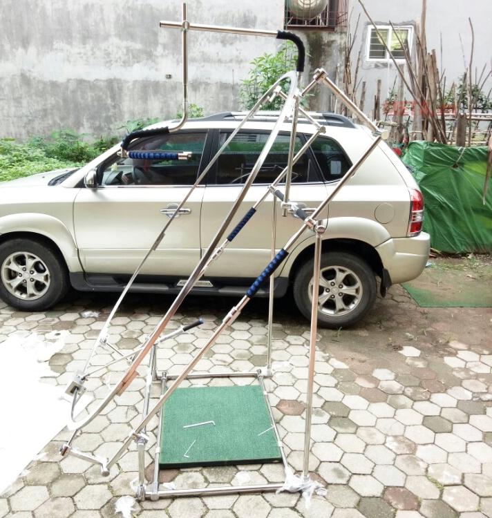 Góc nghiêng của khung lưới