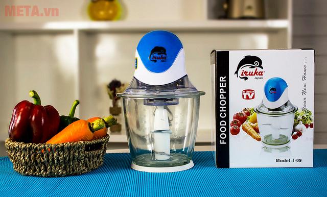 Máy xay thực phẩm Iruka I-09 giúp bạn xay nhuyễn mọi thực phẩm nhanh chóng