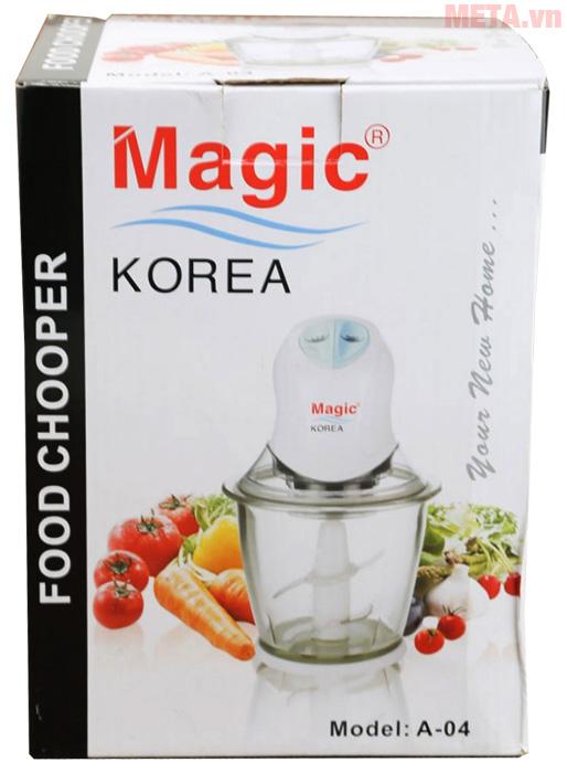 Vỏ hộp của máy xay thực phẩm Magic Korea A04