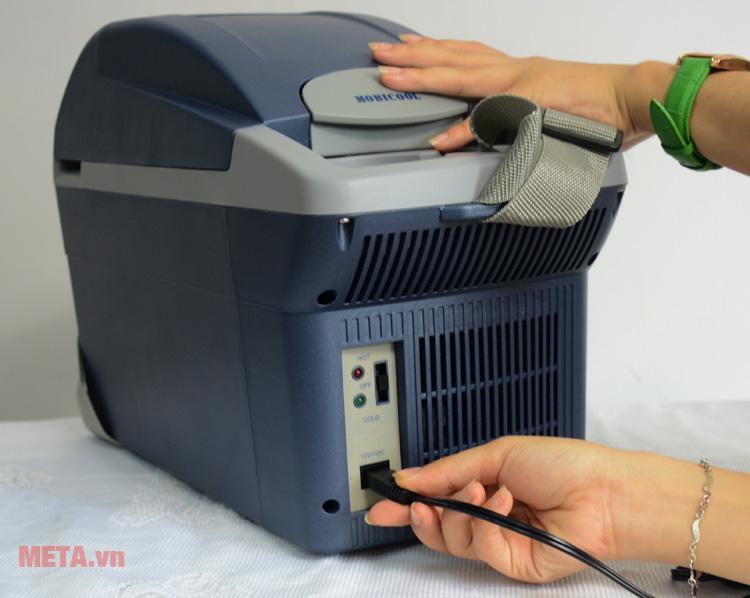 Tủ lạnh Mobicool T08 DC có nguồn điện 1 chiều 12V