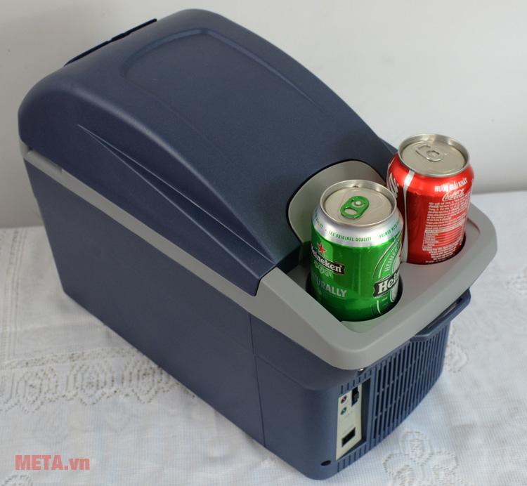 Tủ lạnh Mobicool T08 DC có ngăn đựng nước tiện dụng