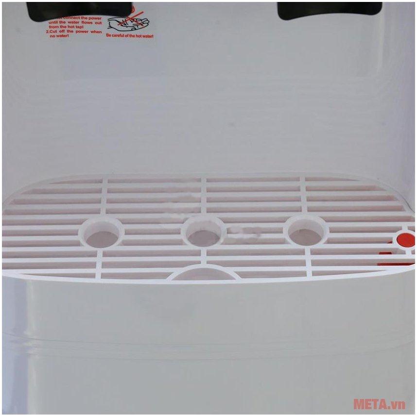 Cây nước nóng lạnh Karofi hút bình HC300-W có chất liệu cao cấp