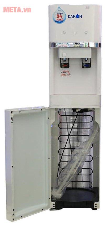 Cây nước nóng lạnh Karofi hút bình HC300-W thiết kế tiện lợi