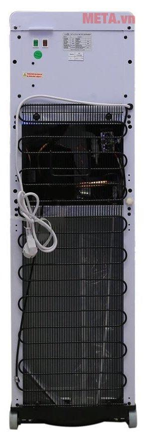 Cây nước uống nóng lạnh Karofi hút bình HC02-W mặt sau