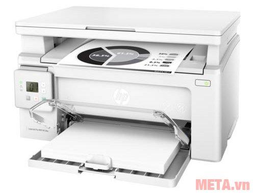 Máy in laser đa chức năng HP M130A-G3Q57A có khay nạp giấy 150 tờ A4