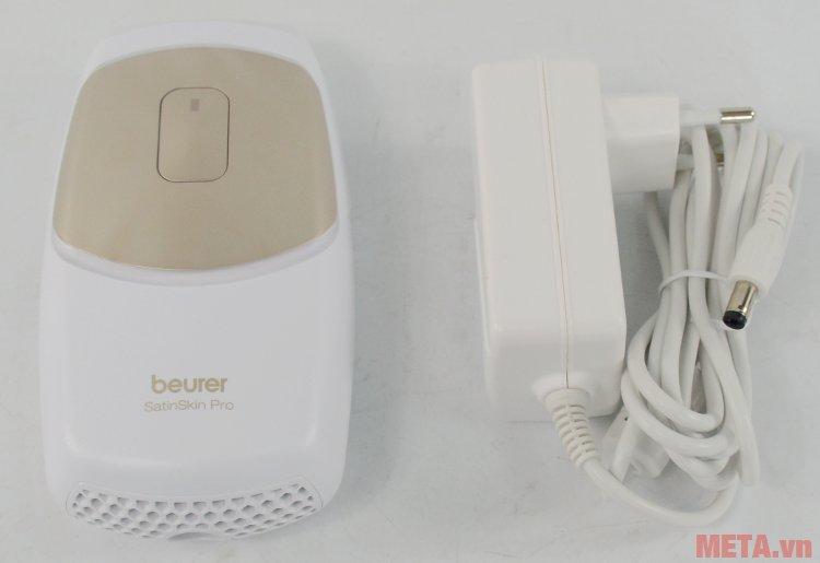 Máy triệt lông cá nhân Beurer IPL7500 có bộ nguồn đi kèm