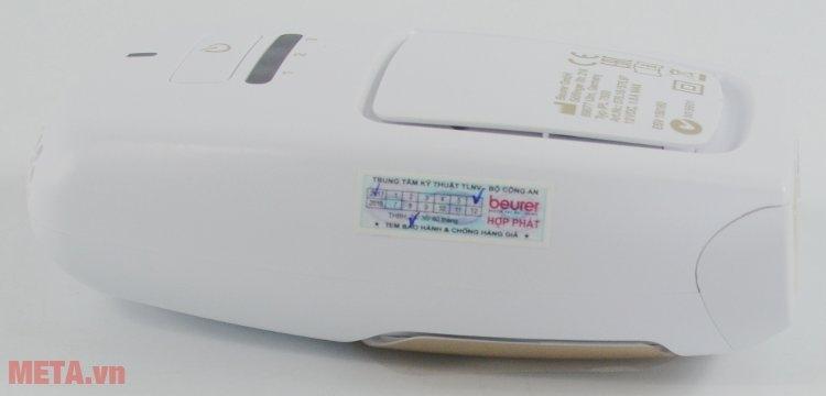 Máy triệt lông cá nhân Beurer IPL7500 có tem chống hàng giả