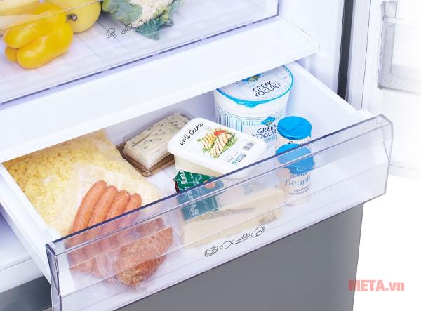 Ngăn ủ tiện lới giúp bạn bảo quản những thực phẩm không cần làm đông