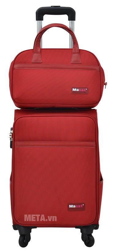 Bộ vali cao cấp MACAT M18BC màu đỏ