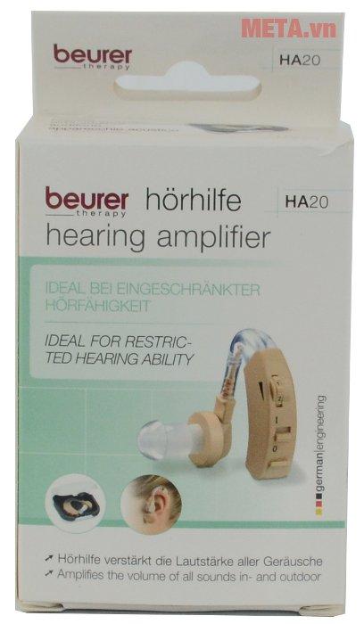 Máy trợ thính Beurer HA20 giúp hỗ trợ tốt cho người bị điếc tai