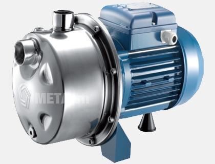 Máy bơm nước dân dụng Pentax Inox 80/62 - 0.8 HP (cánh phíp) theo cơ chế ly tâm