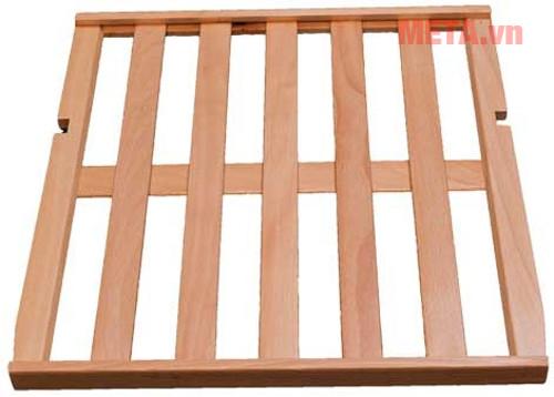 Các kệ để được làm từ chất liệu gỗ sang trọng