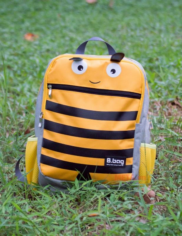 Ba lô con ong B-12-005 nổi bật tô điểm phong cách cho bé đến trường