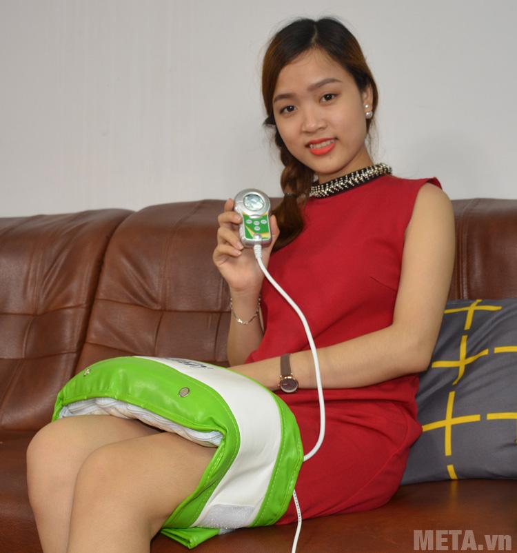 Đai massage rung nóng Royal SP01 giúp massage cả vùng đùi