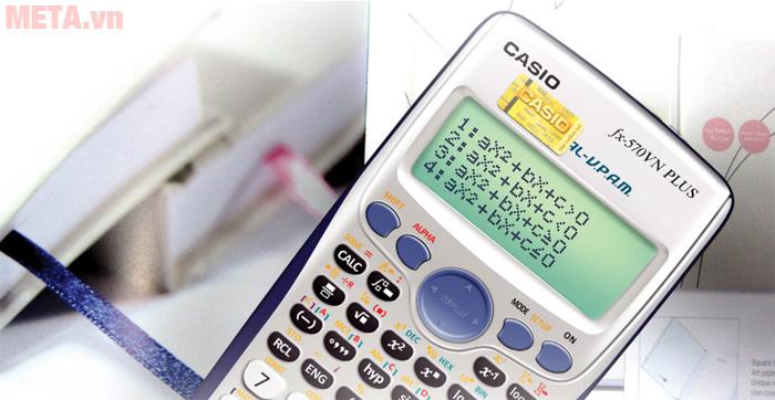 Máy tính bỏ túi Casio FX-570VN Plus có 36 tính năng mới nổi trội