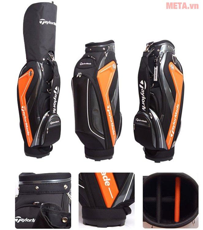 Túi golf nam TaylorMade Curve 5.0 (B78542) có bao chụp đầu gậy