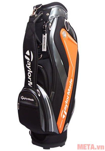 Túi golf nam TaylorMade Curve 5.0 (B78542) màu trắng cam