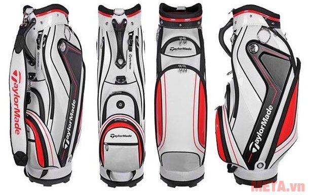 Túi golf nam TaylorMade Curve 5.0 (B78542) có tới 5 ngăn đựng phụ kiện