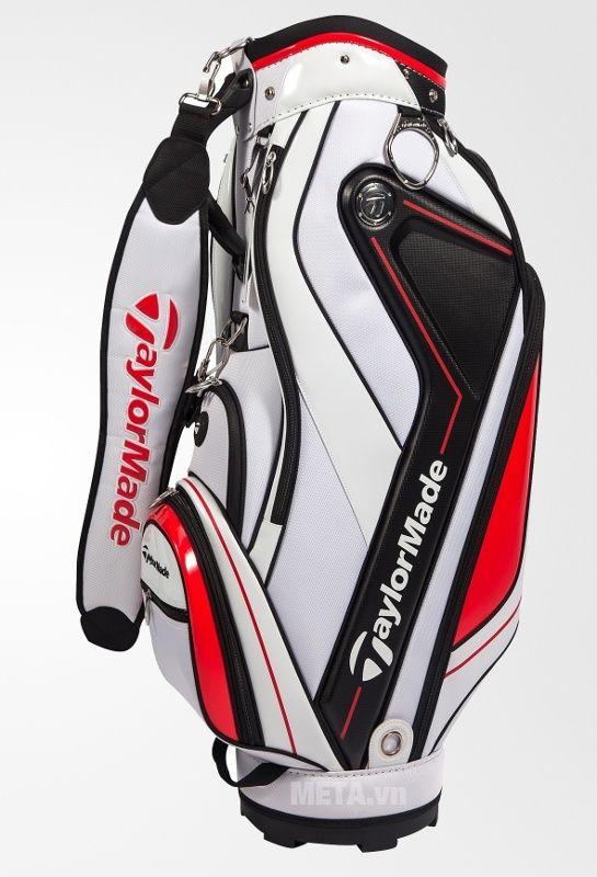 Túi golf nam TaylorMade Curve 5.0 (B78542) màu trắng đỏ