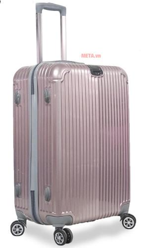 Vali nhựa VLN PC-812 20 màu hồng