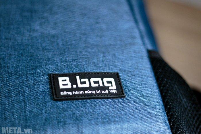 Balo thời trang B-23-007 có gắn logo B.bag đẹp mắt
