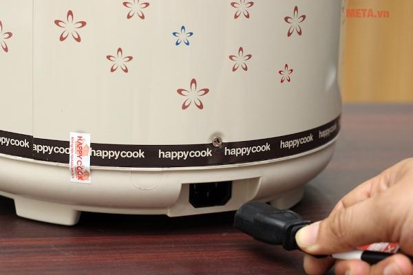 Ổ cắm điện của nồi cơm điện Happycook HC-180