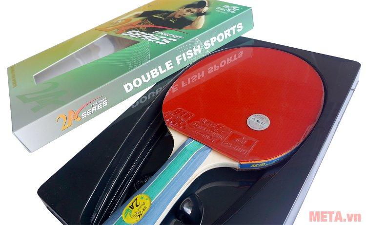 Vợt bóng bàn Double Fish 2A-C để trong hộp nhựa