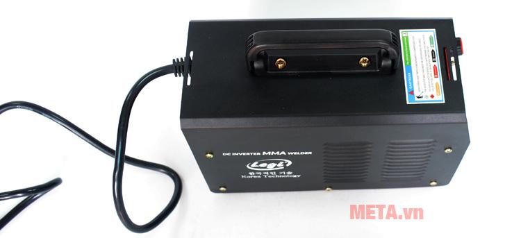 Máy hàn điện tử Legi LG-150VRD-D có quay xách tiện dụng