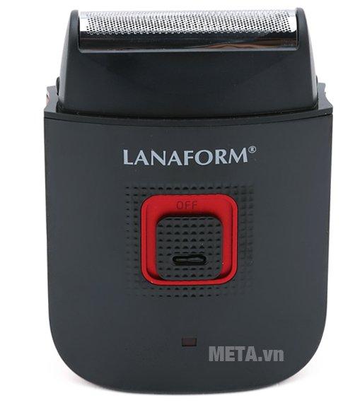 Máy cạo râu Lanaform LA130408 thiết kế lưỡi cạo cực kỳ sắc bén