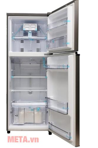 Nội thất của tủ lạnh Panasonic NR-BL308PSVN