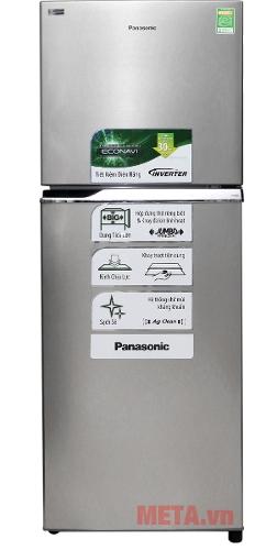 Tủ lạnh Panasonic NR-BL308PSVN phù hợp cho gia từ 5 đến 7 người