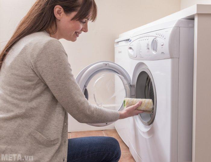 Thanh cuộn vải của máy lau sàn Karcher có thể giặt được trong máy giặt