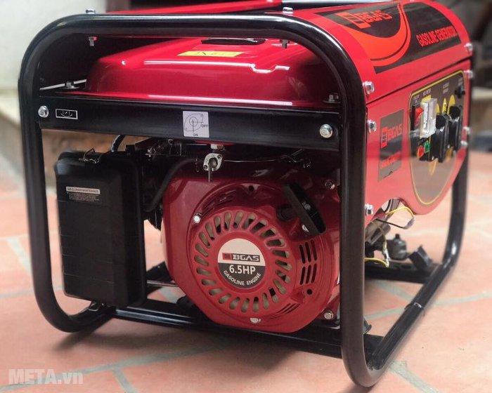 Máy phát điện chạy xăng Bgas BGA2500G tiêu thụ nhiên liệu ít