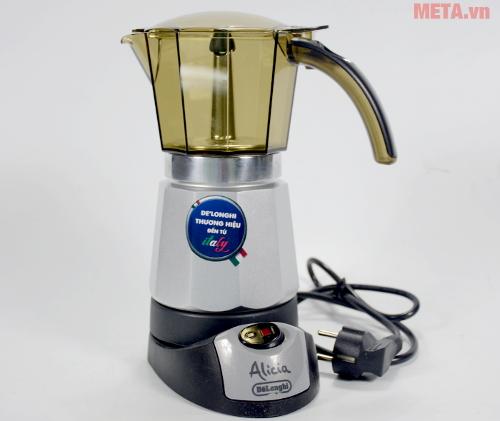 Ấm pha cà phê Delonghi Moka EMK-9 dễ dàng vệ sinh sau khi sử dụng