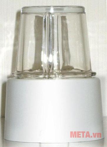 Cối xay được làm từ chất liệu tủy tinh chống bám mùi hiệu quả
