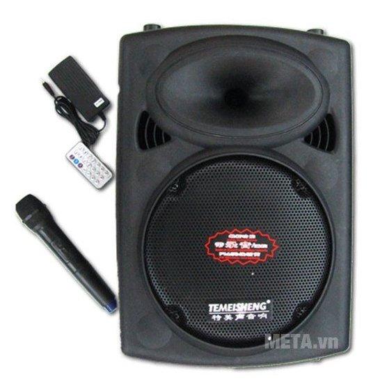 Loa vali kéo Temeisheng DP 107 cho bạn thỏa sức hát karaoke