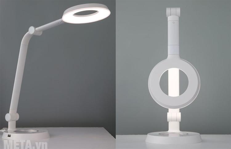 Tấm chống chói LUMIPLAS của đèn Prism 6300WH giảm mỏi mắt, nhức mắt, bảo vệ thị lực tối đa