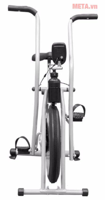 Xe đạp tập thể dục Air Bike với bánh xe từ cao su