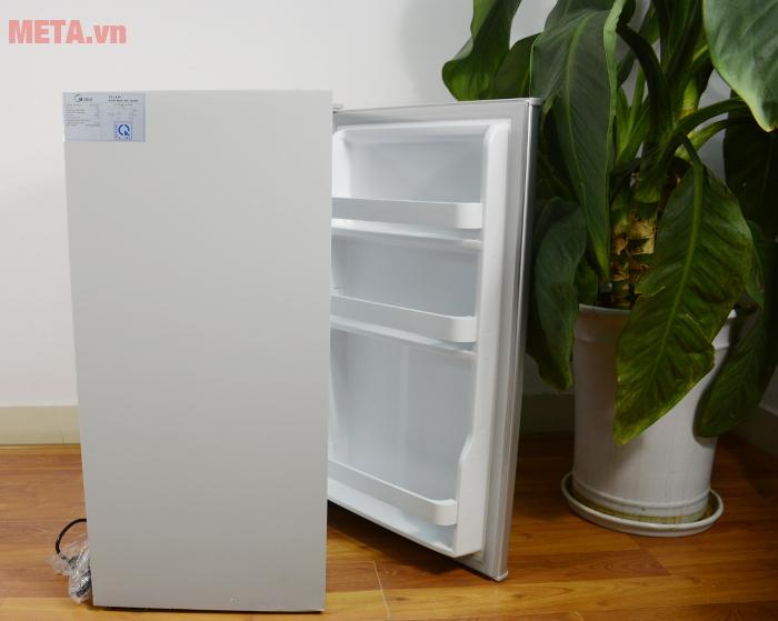 Góc nghiêng của tủ lạnh mini 98 lít Midea HS-122SN