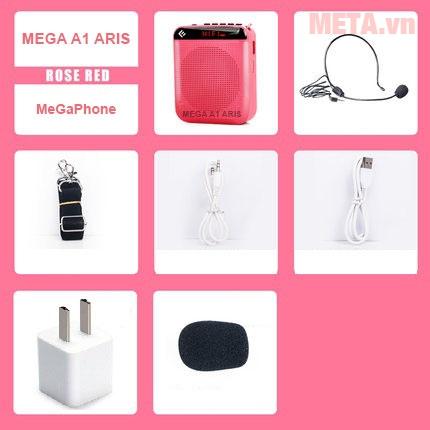 Máy trợ giảng Mega A1 Aris màu hồng