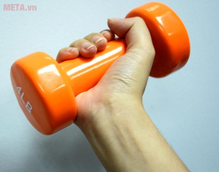 Tạ tay thép bọc cao su Life 4LB cho đôi tay thêm khỏe khoắn săn hơn