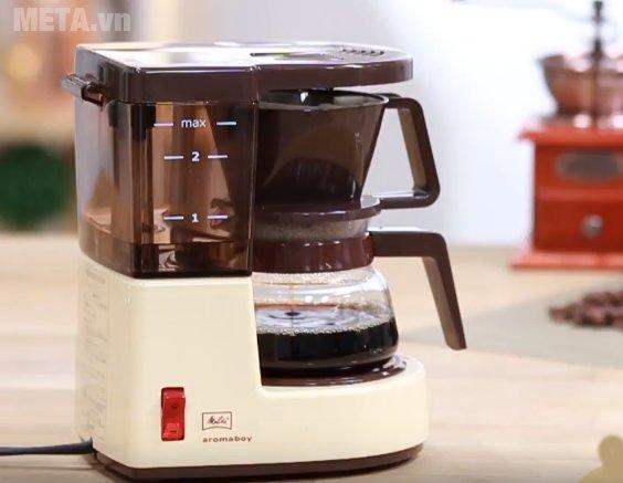 Máy pha cà phê giấy lọc Melitta Aromaboy II có chất liệu cao cấp