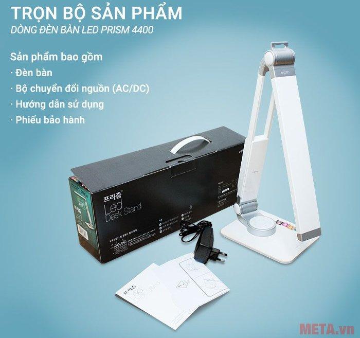 Trọn bộ đèn bàn Led Hàn Quốc Prism 4400W